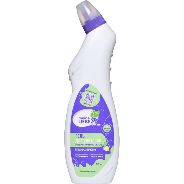 Бытовая химия Meine Liebe Гель для чистки унитаза Лимон 750 мл экологичная бытовая химия meine liebe