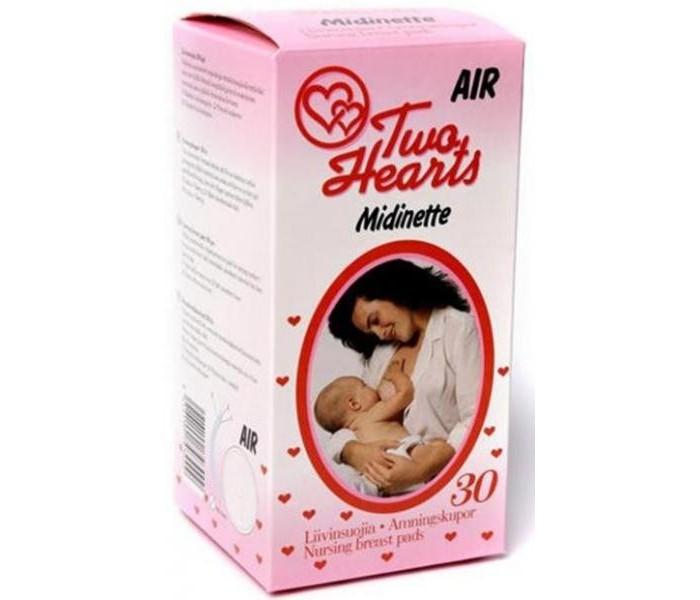 Гигиена для мамы Vuokkoset Прокладки Мидинетте для кормящих матерей 30 шт helen harper прокладки на грудь для кормящих матерей 30 шт