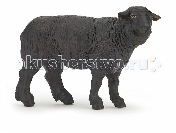 Игровые фигурки Papo Игровая реалистичная фигурка Черная овца игровые фигурки papo фигурка рыба пила