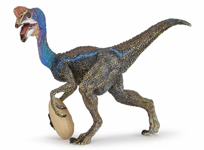 Игровые фигурки Papo Игровая реалистичная фигурка Голубой Овираптор игровые фигурки papo игровая реалистичная фигурка цератозавр