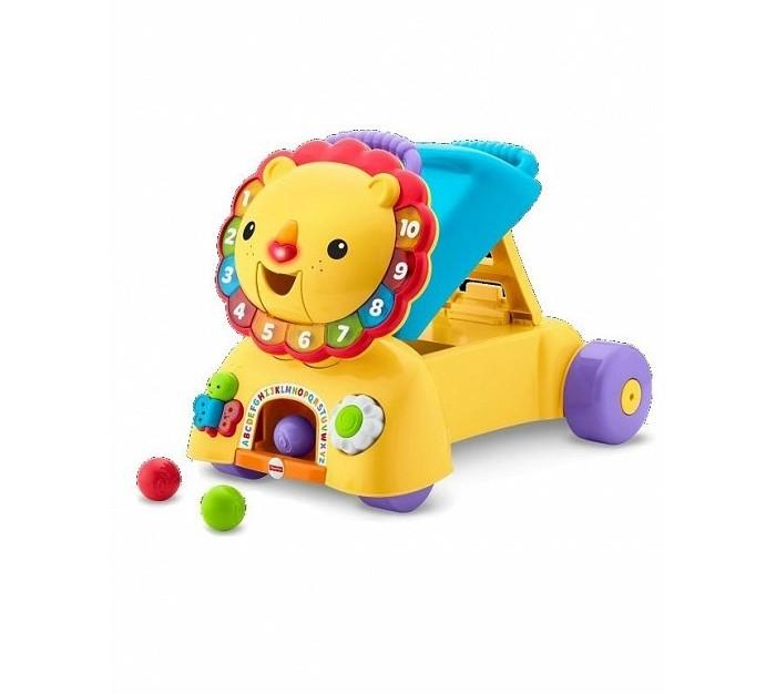 Детская мебель , Ходунки Fisher Price Лев DPL61 арт: 347400 -  Ходунки