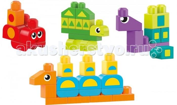 Конструкторы Mega Bloks обучающий Разные формы mega bloks mega bloks конструктор обучающий для малышей разные формы