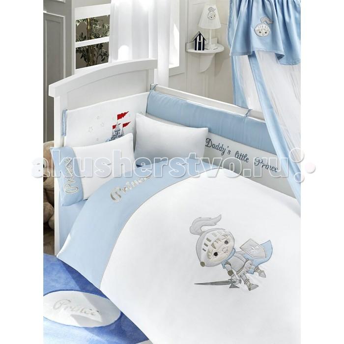 Постельные принадлежности , Комплекты в кроватку Bebe Luvicci Little Prince (6 предметов) арт: 34787 -  Комплекты в кроватку