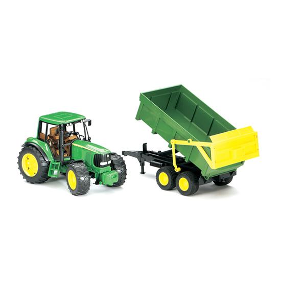 Машины Bruder Трактор John Deere 6920 tomy трактор на радиоуправлении john deere