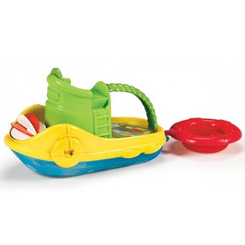 Игрушки для ванны Munchkin Игрушка для ванны Весёлая лодочка игрушки для ванны munchkin игрушка для ванны пингвин в лодке