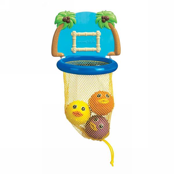 Игрушки для ванны Munchkin Игрушка для ванной Баскетбол munchkin игрушка для ванны школа рыбок