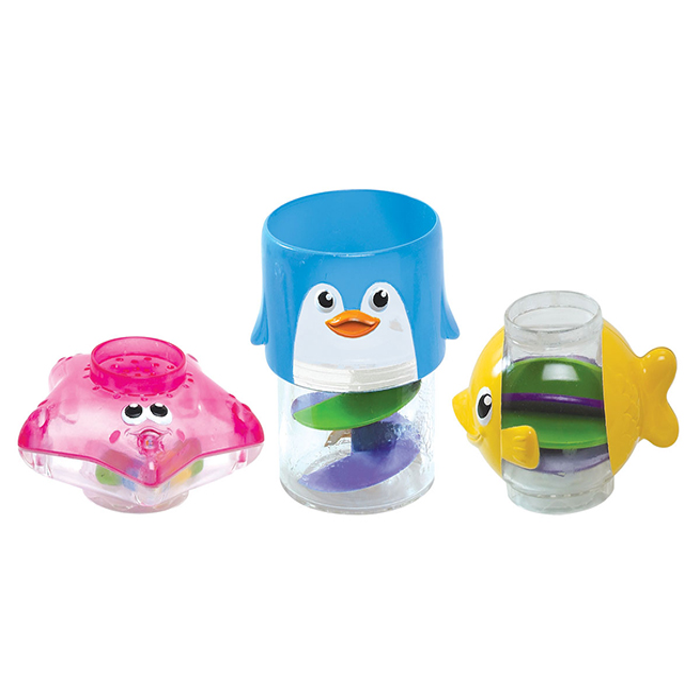 Игрушки для ванны Munchkin Игрушка для ванной Пирамидка 3 в 1 игрушки для ванны munchkin игрушка для ванной пирамидка гусеница