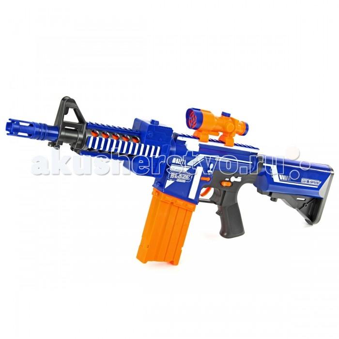 Игрушечное оружие Veld CO Автомат с мягкими пулями 57194 игрушечное оружие veld co игрушечное оружие