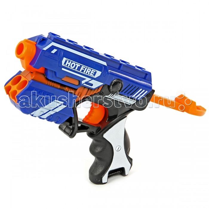 где купить  Игрушечное оружие Veld CO Пистолет с мягкими пулями 57189  дешево