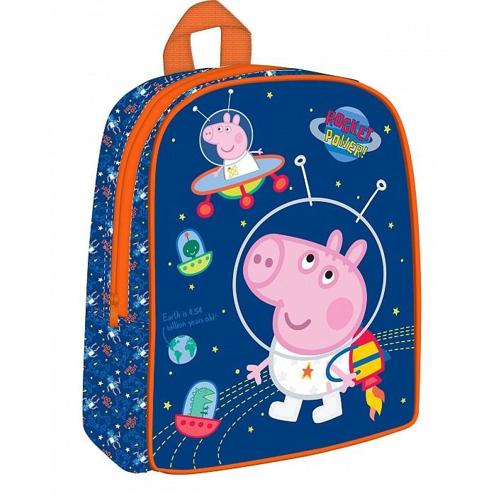 Школьные рюкзаки Свинка Пеппа (Peppa Pig) Рюкзачок дошкольный средний сумки для детей свинка пеппа peppa pig рюкзачок малый superstar