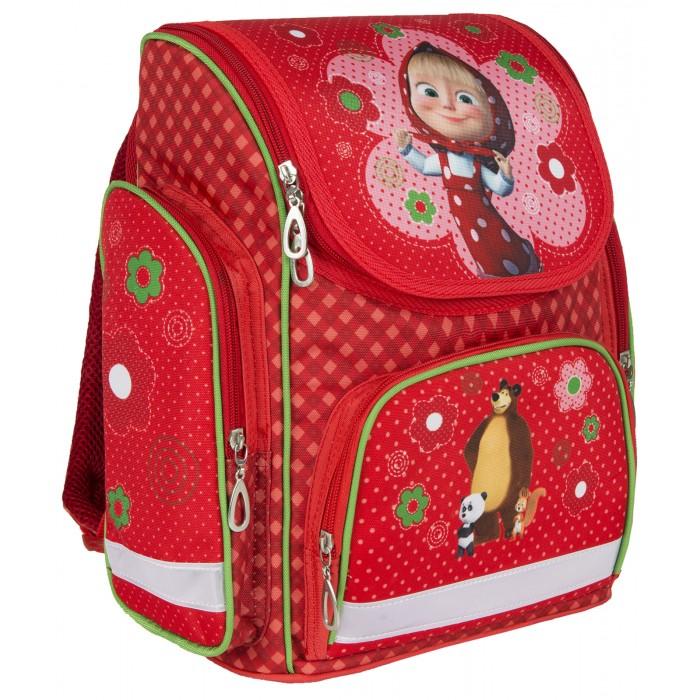 Развитие и школа , Школьные рюкзаки Маша и Медведь Рюкзак с усиленной спинкой средний арт: 348810 -  Школьные рюкзаки