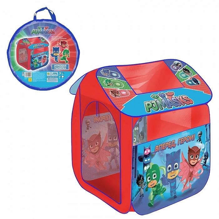 Палатки-домики Герои в масках (PJ Masks) Игровая палатка 83х100х80 см в чехле палатки greenell палатка дом 2