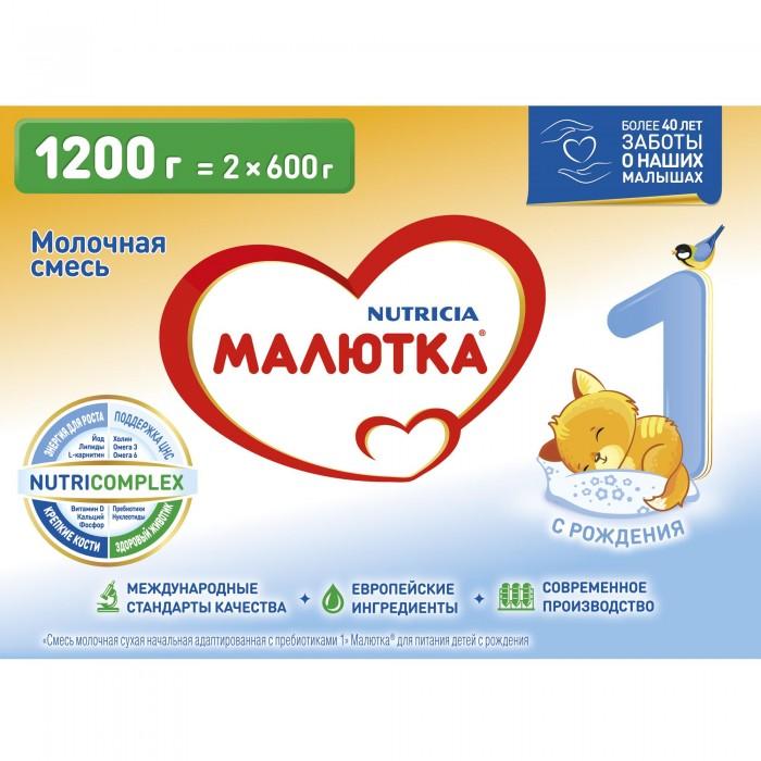Молочные смеси Малютка Молочная смесь 1 0-6 мес. 1200г молочная продукция pediasure малоежка шоколад – полноценное и сбалансированное питание для малоежек от 1 года до 10 лет