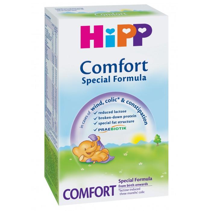 Молочные смеси Hipp Молочная смесь Comfort с 0 мес., 300 г молочная смесь semper bifidus 1 с рождения 400 г