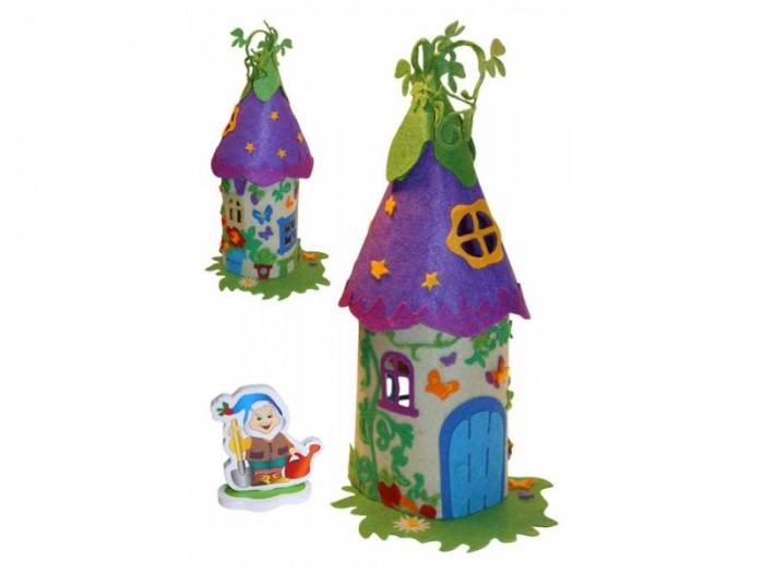 Наборы для творчества Креатто Шьем из фетра Волшебный домик гномика домик для птиц gardman домик для птиц gardman 24 см