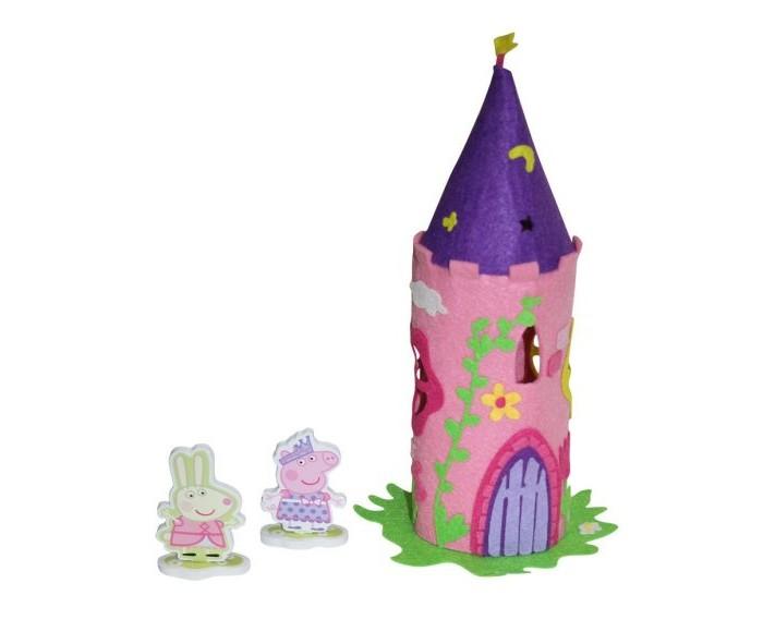 Наборы для творчества Свинка Пеппа (Peppa Pig) Шьем из фетра Волшебный замок Пеппы origami пазл замок 160 деталей свинка пеппа