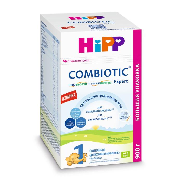 Молочные смеси Hipp Молочная смесь 1 Combiotiс с рождения 800 г молочная смесь semper bifidus 1 с рождения 400 г