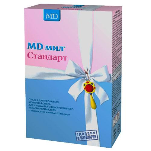 MD мил Сухая молочная смесь Стандарт с рождения 500 г