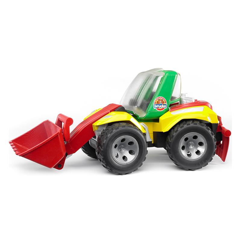 купить Машины Bruder Погрузчик Roadmax с ковшом и разрыхлителем недорого