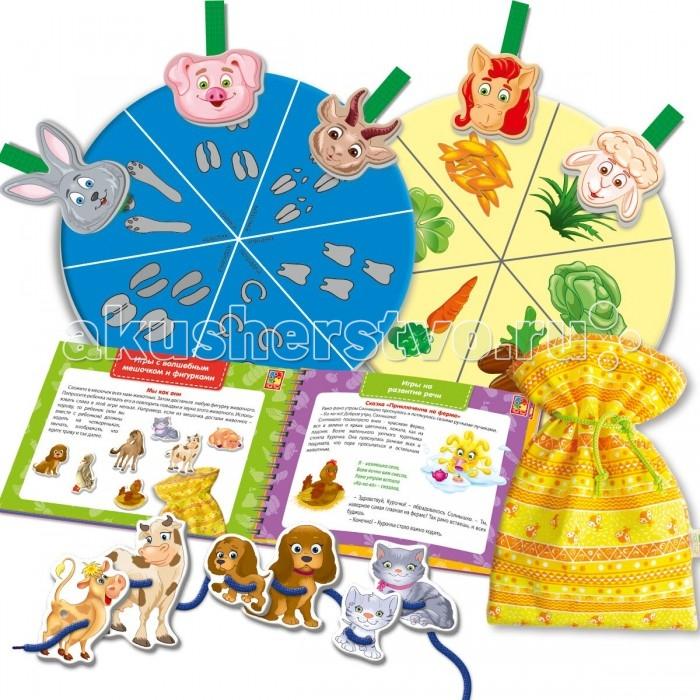 Раннее развитие Vladi toys Игры с пуговицами Больше чем Ферма vladi toys развивающая игра больше чем мир животных