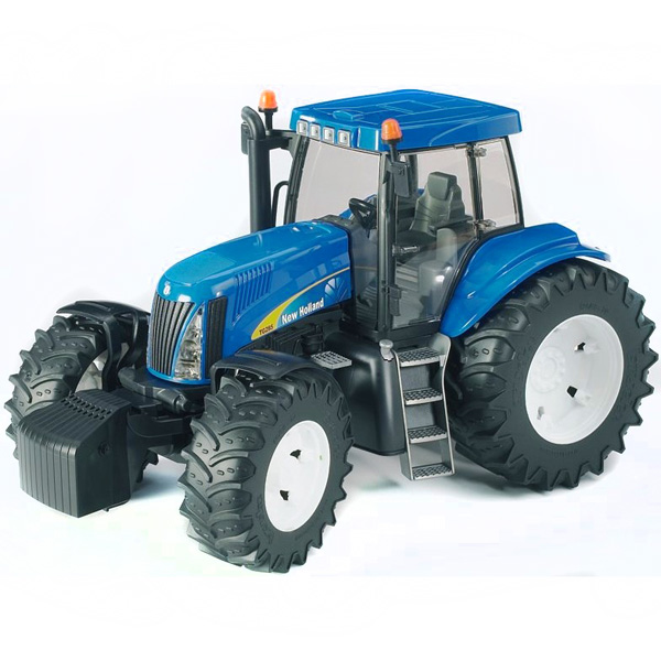 Машины Bruder Трактор New Holland T8040 tomy трактор new holland t7 270 с 3 лет