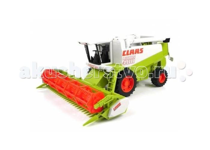 Машины Bruder Комбайн Claas Lexion 480 трактор bruder claas axion 950 bruder