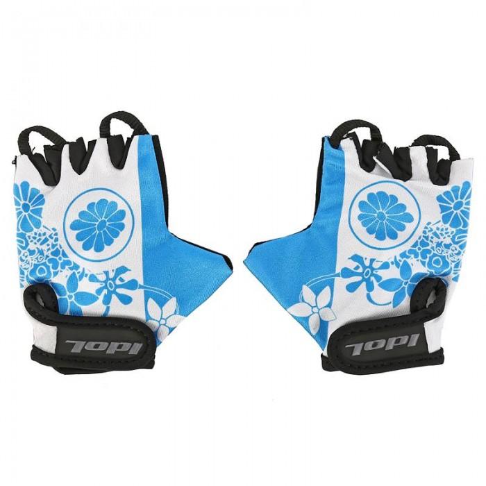 Шлемы и защита Idol Перчатки велосипедные Flossi