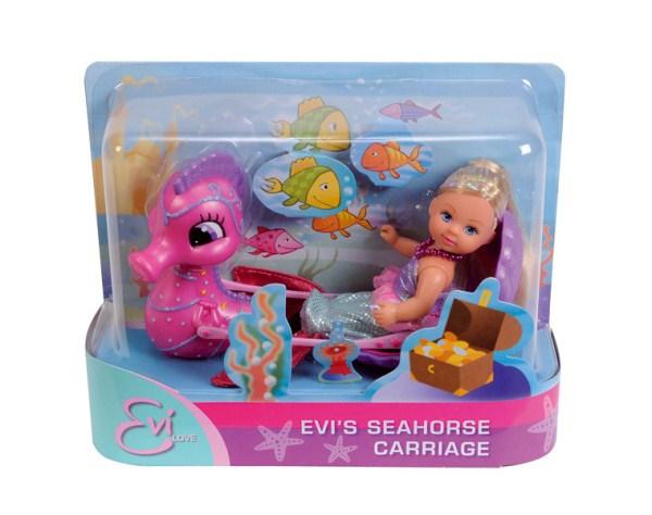 Куклы и одежда для кукол Simba Кукла Еви-русалка и морской конек ws 552 статуэтка русалка и морской конек 1197312