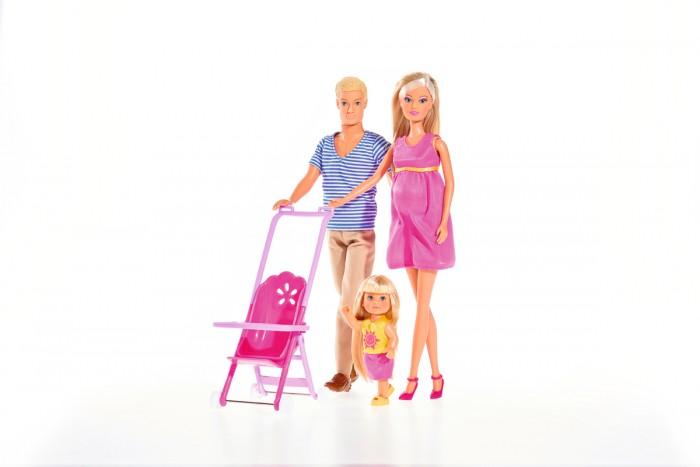 Куклы и одежда для кукол Simba Кукла Штеффи и семья куклы и одежда для кукол simba кукла еви с малышом на прогулке