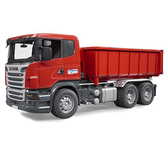 Bruder Самосвал-контейнеровоз ScaniaСамосвал-контейнеровоз ScaniaСамосвал-контейнеровоз Bruder Scania  изготовлен в масштабе 1 к 16<br>
