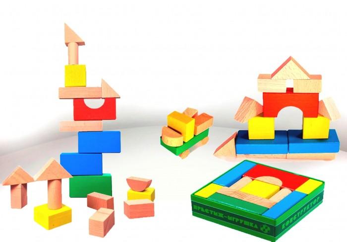 Деревянные игрушки Престиж-Игрушка Конструктор (20 деталей) Цветной бюсси м самолет без нее