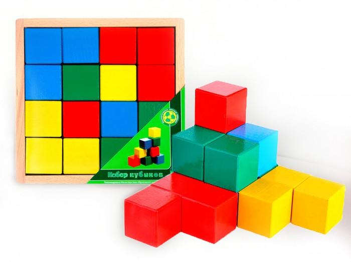 Деревянные игрушки Престиж-Игрушка Кубики Цветные АЦ2200 деревянные игрушки престиж игрушка кубики азбука 30 деталей
