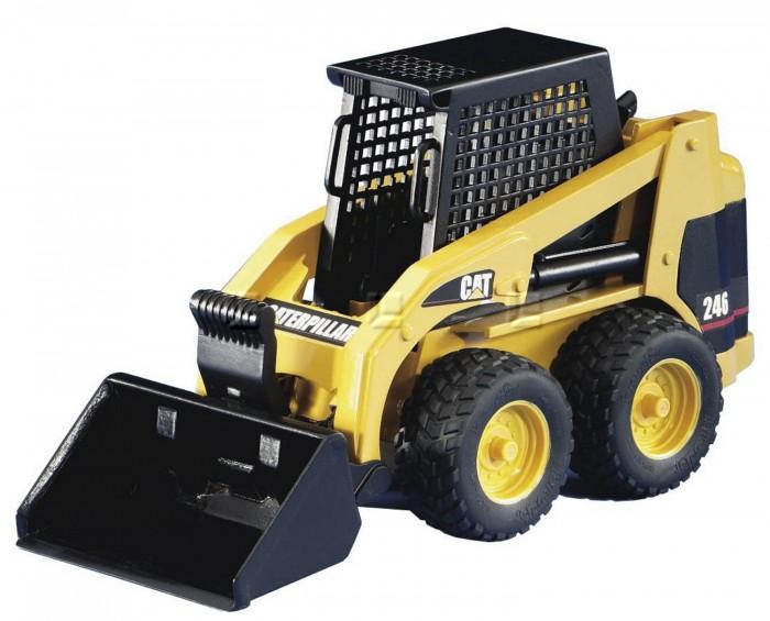 Машины Bruder Мини Погрузчик колёсный CAT с ковшом