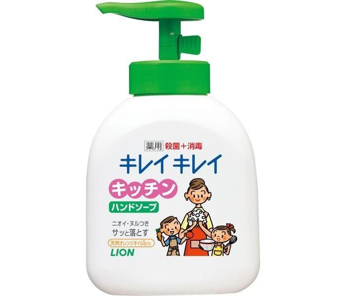 Бытовая химия Lion Жидкое мыло для рук Kirei Kirei антибактериальное для кухни 250 мл