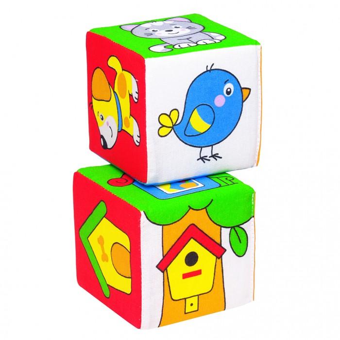 Развивающие игрушки Мякиши Кубики Чей домик мякиши мякиши кубики 4 цвета