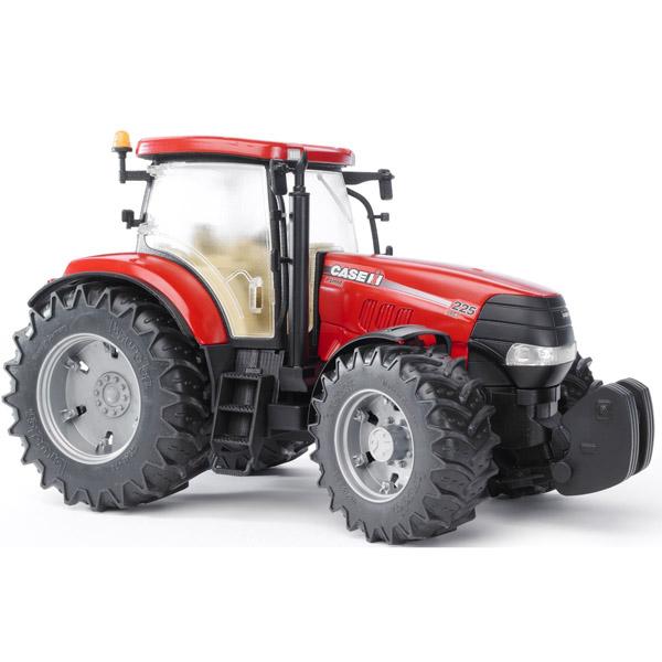 Bruder Трактор Case CVX 230Трактор Case CVX 230Трактор Bruder Case CVX 230   Особенности:    Cоздан в масштабе 1 к 16, поэтому идеально совместим с иными машинками, автомобилями и спец. техникой Брудер соответствующей серии.   Трактор оснащен дополнительным рулем с приводом, который позволяет регулировать поворот колес.   Специальная подвеска передней оси облегчает преодоление сложных препятствий.  Двери и капот открываются.   Прорезиненные колеса не оставляют следов на разных типах поверхностей.   Они обеспечивают удобную для пользователя мягкость хода.<br>