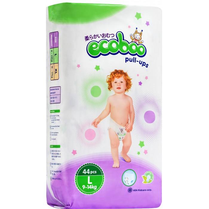Купить Ecoboo Подгузники-трусики L (9-14 кг) 44 шт. в интернет магазине. Цены, фото, описания, характеристики, отзывы, обзоры