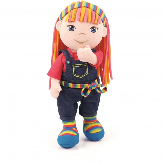 Куклы и одежда для кукол Bayer Тряпичная кукла Алина 30 см l oreal professionnel уплотняющий мусс 2 для натуральных волос 125 мл