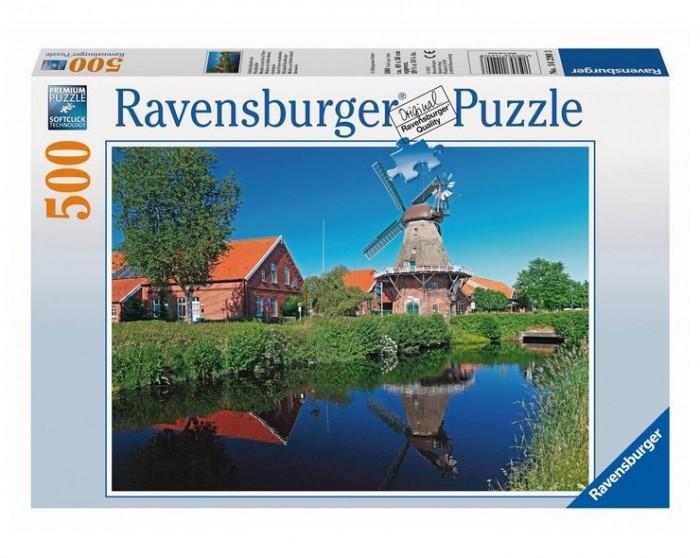 Пазлы Ravensburger Пазл Ветряная мельница 500 элементов пазлы origami пазл дм зайчик и волчонок 25 элементов