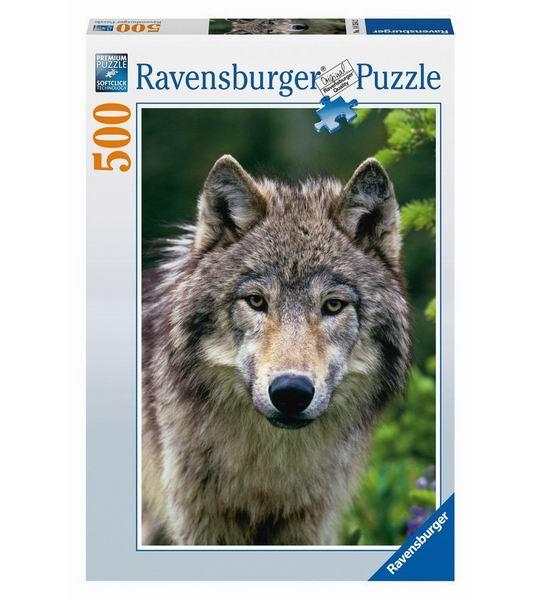 Пазлы Ravensburger Пазл Волк 500 элементов ravensburger пазл волк 500 деталей