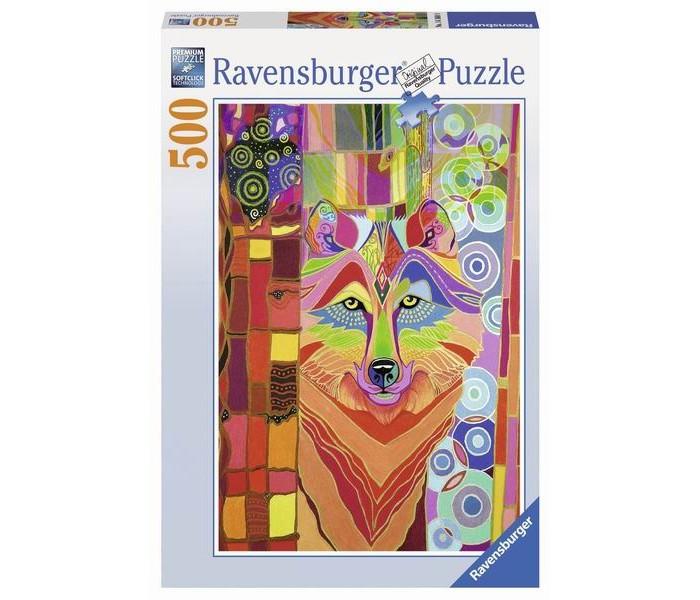 Пазлы Ravensburger Пазл Сказочный волк 500 элементов пазлы ravensburger пазл сказочный волк 500 деталей