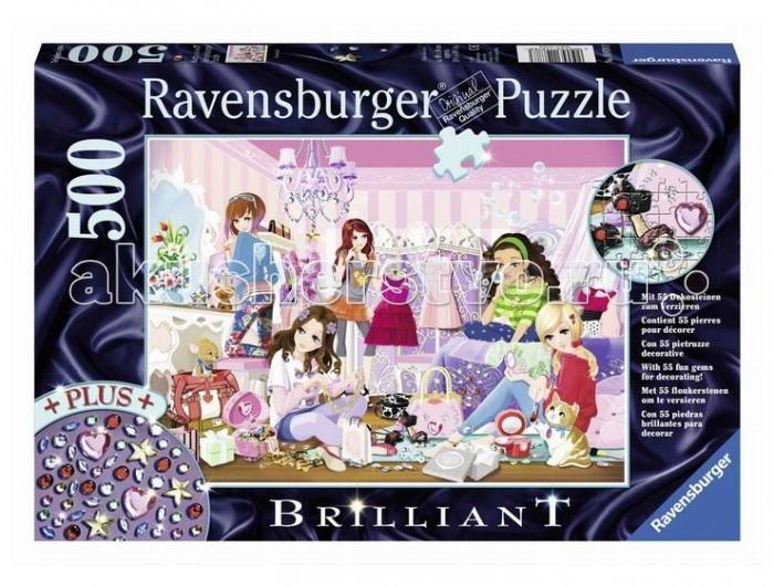 Пазлы Ravensburger Пазл Модные подруги 500 элементов пазлы ravensburger пазл прима балерина 500 элементов
