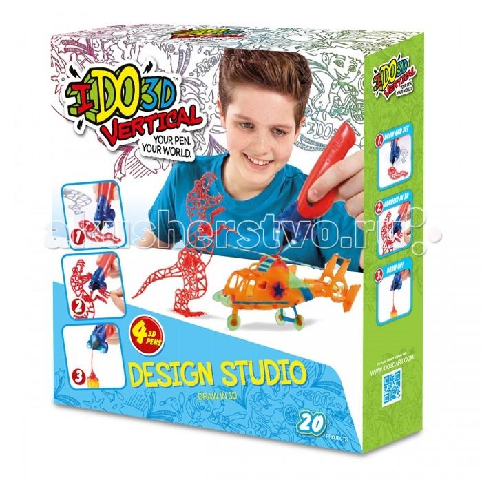 Творчество и хобби , Наборы для творчества Redwood 3D Набор Дикие забавы с 3D ручками Вертикаль 4 шт. арт: 356790 -  Наборы для творчества