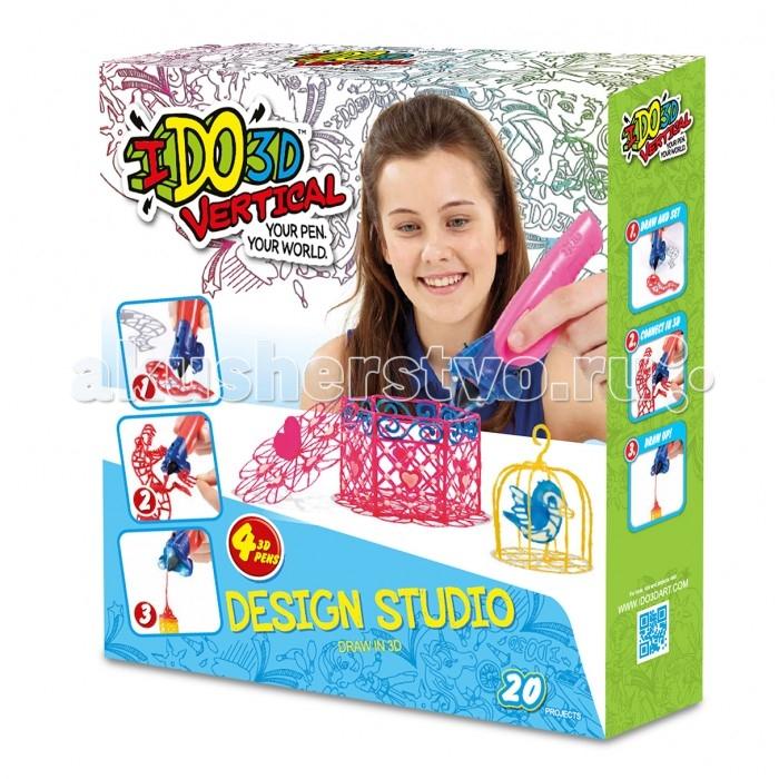 Творчество и хобби , Наборы для творчества Redwood 3D Набор Милые создания с 3D ручками Вертикаль 4 шт. арт: 356800 -  Наборы для творчества