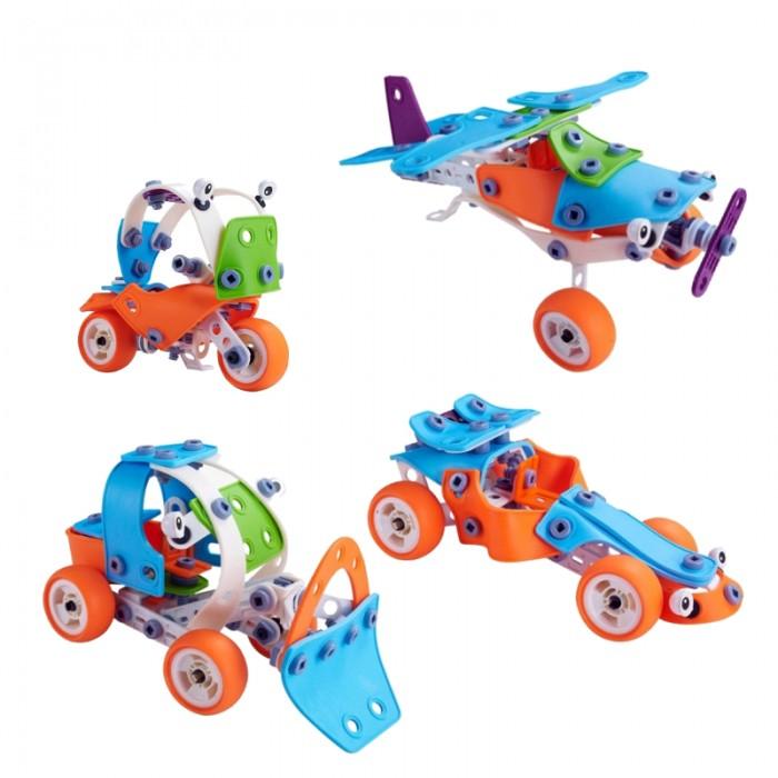 Конструкторы Hanye Build&Play HYJ-201 развивающая игрушка keenway build n play аэроплан вертолет