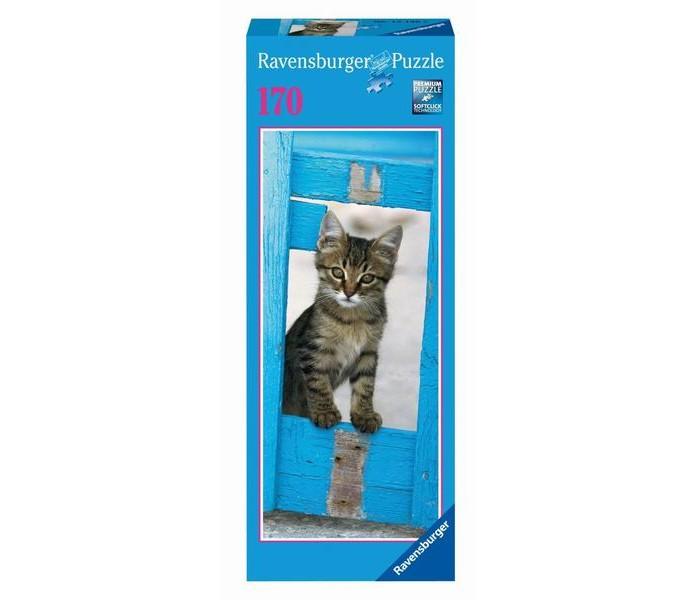 Пазлы Ravensburger Пазл Любопытный котенок 170 элементов пазл 200 котенок 17154