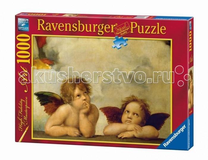 Картинка для Ravensburger Пазл Рафаэль. Ангелы 1000 элементов