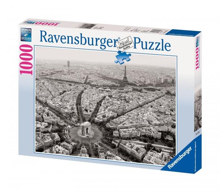 Пазлы Ravensburger Пазл Черно-белый Париж 1000 элементов ravensburger пазл черно белый париж