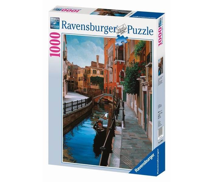 Пазлы Ravensburger Пазл Венеция 1000 элементов пазлы origami пазл дм зайчик и волчонок 25 элементов