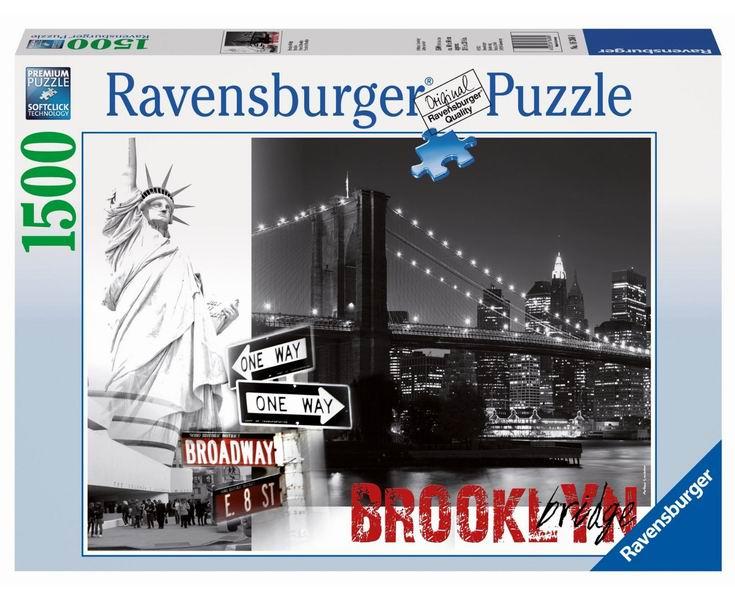Пазлы Ravensburger Пазл Бруклинский мост 1500 элементов ravensburger пазл тихая бухта 1500 деталей